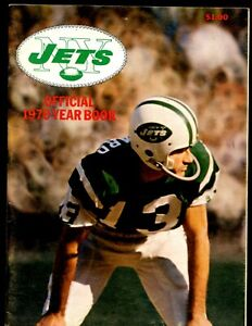 1970 NFL Football New York Jets Yearbook EXMT