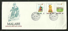 SOCCER WORLD CUP 1982 MALAWI FDC, VERY FINE