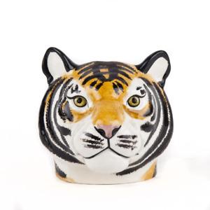 Quail Ceramics  Face Egg Cup  Tiger