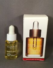 Clarins Lotus Face Treatment Oil Anti-Aging Purifies ,Refines Pores -5 ml Travel