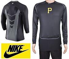 Nike Mlb Pittsburgh Pirates Baseball Compression Ls Shirt Men's 3Xl New w/o Tags