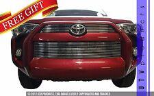 GTG 2014 - 2017 Toyota 4Runner 3PC Polished Overlay Billet Grille Grill Kit