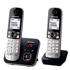 Panasonic KX-TG6822GB Duo DECT Schnurlostelefon schwarz NEU