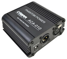 More details for 48 volt phantom power supply for condenser microphones with uk power supply