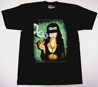 STREETWISE MARY JANE T-shirt Urban Streetwear Tee Men L-4XL Black NWT