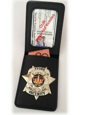 Badge ID Wallet, Large Window - NEW - Fit your Own Badge - Suitable for NSWPF
