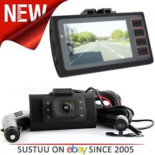 Plug N Go Drive 2 Car HD Dash Cam│Driving Video Recorder Front & Rear DVR Camera