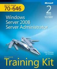 Self-Paced Training Kit (Exam 70-646) Windows Server 2008 Server Administrator