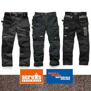 Scruffs Flex Work Trousers - Stretch - Pro Flex / Plus / Holster & Non Holster