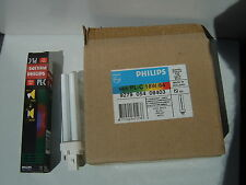 Philips Kompaktleuchtstoff Energiesparlampe PL-C 18W Weiss 9 Stück Neu