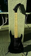 1998 Kramer 7 String Electric Guitar Floyd Rose Lic.Tremolo soft case