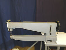 Durkopp Adler 205 Single Needle, Needle Feed Long Arm Industrial Sewing Machine