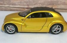 Maisto Chrysler Pronto Cruizer 1/18 Scale Diecast Yellow Concept Car