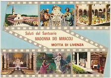 SALUTI DAL SANTUARIO MADONNA DEI MIRACOLI - MOTTA DI LIVENZA (TREVISO) 1971