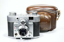 Samoca-35 Super Very Small Full Frame 35mm Rangefinder Camera Film Tested