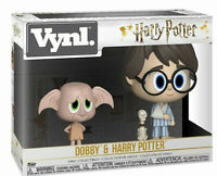 "Funko 31001 VYNL 4"" 2 Pack Double Harry Potter and Dobby Elf Collectable Figures"