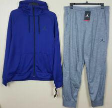 Jordan 360 Fleece Deep Royal Blue Therma Training Hoodie 808690-455 Mens Sz 2xl