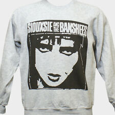 SIUOXSIE AND THE BANSHEES PUNK ROCK SWEATSHIRT bauhaus cure JUMPER GREY S-3XL