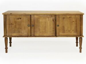 Sideboard Massiv Landhaus Olinda 160 cm Kommode Massivholz Antik Holz Schrank