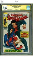 Amazing Spider-Man #73 1969 1st appearance of Silvermane Stan Lee SS CGC 9.6