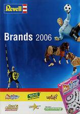 Prospekt Revell Brands 2006 Mag Cliks Grand Champions Kick-o-Mania epixx Stars o