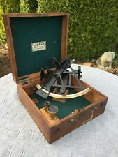 Vintage C. Plath Brass Marine Sextant, Hamburg, Germany