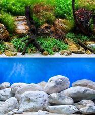 poster fond aquarium reversible 150 X 60 cm  bright/aqua