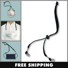 Mask Lanyard - Mask Holder - Adjustable Lock, Sturdy and strong - stays on neck