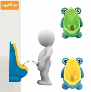 Kids Frog Potty Toilet Urinal Pee Trainer Wall-Mounted Toilet Potty Training Boy
