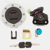 Ignition Switch Fuel Gas Cap Seat Lock Key For Suzuki Hayabusa GSXR1300R 1999-15