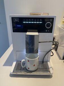 melitta caffeo ci Weiss Kaffeemaschine Kaffeevollautomat