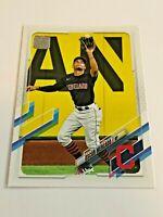 2021 Topps Baseball Base Card #292 - Oscar Mercado - Cleveland Indians