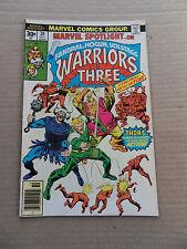 Marvel Spotlight 30 . Warriors Three - Marvel 1976 - FN / VF