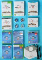 Disney Infinity Games /Bases/ Portal  1.0/2.0/3.0 XBox One/360 / WiiU /U PS4 /3