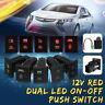 12V LED Taster Schalter Drucktaster Rot Ein/Aus-Schalter für VW Amarok 6 Typs