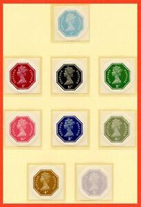 1974 John Daynes 3rd Printing Of The Circular Octagonal Self Adhesive set. MNH