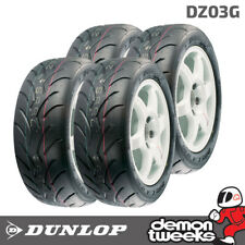 4 X 225/45/17 Dunlop Dz03g Hard Compound Track Day/rally/racing Tyre - 2254517
