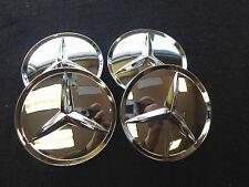 Mercedes Wheel Center Hub Cap Chrome 75mm SLK CLS E GL 2204000125
