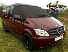 Mercedes Benz Vito 639 Front Window Screen Cover Black Out Blind Frost Wrap