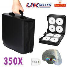 NEW Disc Carry Case 350 CD DVD Holder Protector Storage Bag Wallet Binder Sleeve
