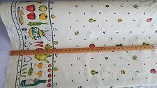 cotton fruit pattern fabric