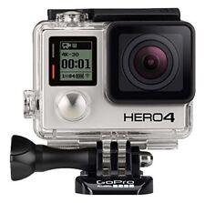 GoPro HERO 4 BLACK EDITION 4K Action Camera Camcorder CHDHX-401 12MP Camera