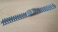NEW 20MM JUBILEE STAINLESS STEEL WATCH STRAP / BAND WITHOUT LUGS END (JB 23)