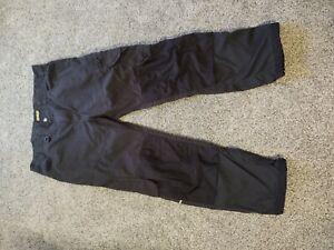 Blaklader Workwear Knee Pad black pants men's 36 x 30