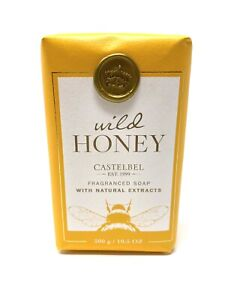 Wild Honey Luxury Fragranced Soap with Natural Extracts Castelbel Porto