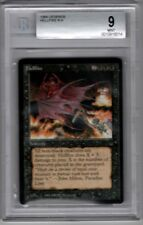 MTG Magic The Gathering HELLFIRE Legends - Beckett GRADED  9 MINT ~ RESERVE LIST