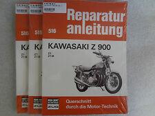 Reparaturanleitung, Buch, Kawasaki Z900, Z1, Z1-B, Z1-F, Exklusivdruck, Band 516