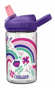 Eddy+ Kid's BPA Free Water Bottle by Camelbak 14oz Rainbow Floral