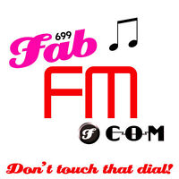 FabFM.com Fab FM! 5 Letter Catchy Brandable Music Radio Station Domain Name