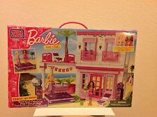 New Mega Bloks Barbie Beach House #80226 - Includes Beach Fun Barbie & Nikki